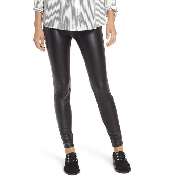 5fa0a3798c58ba Lysse Pants | Kohl Black Vegan Faux Leather Leggings Nwt | Poshmark
